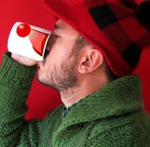 Christmas Mug. A Design, Product Design, and Graphic Design project by Alejandro Mazuelas Kamiruaga - Sep 15 2014 12:00 AM