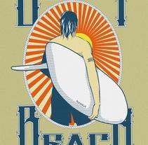 participacion en un concurso de diseño de t-shirt en Bondi. A Illustration, Advertising, Fashion, and Graphic Design project by Israel Delgado Blanco         - 19.09.2014