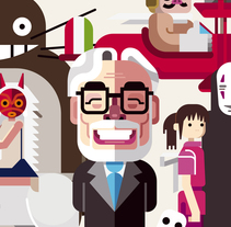 Miyazaki Fan Art . A Illustration project by Ricardo Polo López         - 21.09.2014