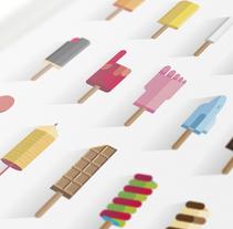 Los helados de mi infancia. A Illustration project by Ricardo Polo López - 09.24.2014