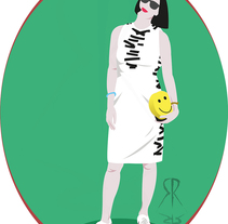 Nuevo proyecto. A Illustration, Costume Design, and Fashion project by Sandra Rueda         - 23.09.2014