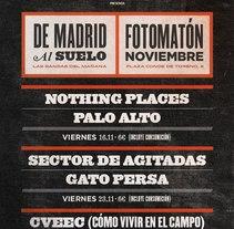 De Madrid al suelo. Um projeto de Design gráfico de Porelamordedios - 22-09-2014
