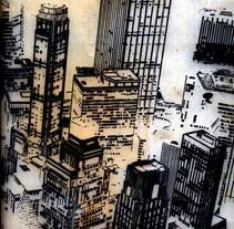 New York. A Illustration project by Víctor Mallol Mora         - 26.09.2014
