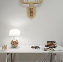 Estudio. A 3D, Interior Architecture&Interior Design project by MARIA POZO         - 29.09.2014