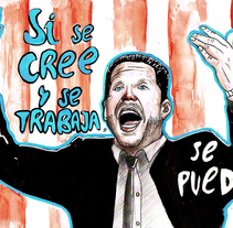 Deporte. A Illustration project by Rafael Rodrigo Toledo         - 03.10.2014