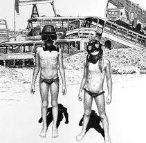 Summer 2050. A Fine Art&Illustration project by Pablo Jurado Ruiz - Oct 06 2014 12:00 AM