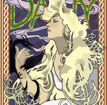 GoT. daenerys targaryen. Un proyecto de Diseño e Ilustración de Sergio Rodríguez Rodríguez - Lunes, 06 de octubre de 2014 00:00:00 +0200