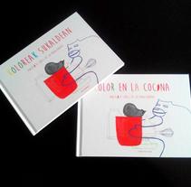 COLOR EN LA COCINA. A Design, Illustration, Art Direction, Editorial Design, Education, Fine Art, Cooking, Game Design, Graphic Design, and Painting project by Angélica López de la Manzanara         - 06.10.2014