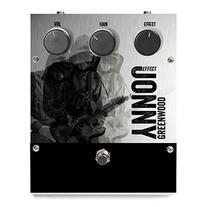 JONNY Greenwood OVERDRIVE pedal. Um projeto de Br, ing e Identidade, Design industrial e Packaging de Modesto Pérez         - 07.10.2014