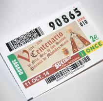 V Centenario Patrona de Móstoles (Carteles y Cupón para el 11 deOct.). Un proyecto de Diseño gráfico de Sergio Barea Carbonell         - 09.09.2014
