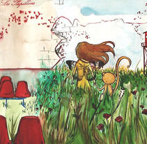 Allegro cantabile. A Illustration project by Natalia Robledo         - 09.02.2010