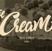 The Cream (Turkey). A Br, ing, Identit, T, and pograph project by LetteringShop         - 29.04.2014