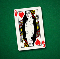 Charity Strip Poker. A Design, Advertising, Film, Video, TV, and Education project by Mapi Bg         - 20.10.2014