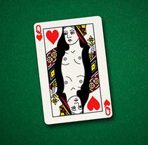 Charity Strip Poker. Um projeto de Design, Publicidade, Cinema, Vídeo e TV e Educação de Mapi Bg         - 20.10.2014