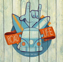 Road Life. A Illustration project by Javi  Viewer - May 12 2013 12:00 AM