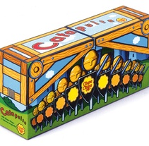 Catapulta de Chupa Chups. A Graphic Design, Illustration, and Packaging project by César Calavera Opi - Oct 22 2014 12:00 AM