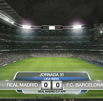 APP REAL MADRID. ON AIR. A Art Direction, and Graphic Design project by Miguel Angel Pérez Gonzalez-Gallego - 08-10-2014