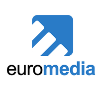 Logotipo Euromedia Films. Un proyecto de Diseño, Br e ing e Identidad de Javier Díaz González - 27-10-2014