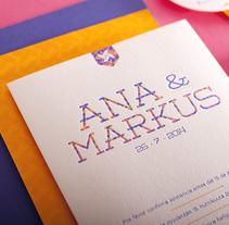 Ana & Markus. Un proyecto de Diseño de La Trastería  - 18-04-2014