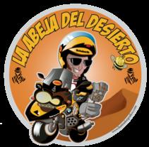 Abeja del desierto ( Logo indumentaria Dakar ). Un proyecto de Bellas Artes de jose ramón puerto urios         - 11.11.2014