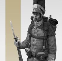 Soldado Imperial. A Character Design project by Julen Aranguren Valluerca         - 04.11.2014