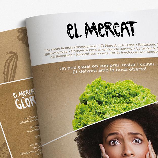 Revista el mercat domestika - El mercat de les glories ...