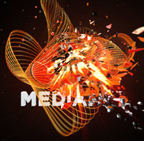 INTRO MEDIAPRO. A Motion Graphics, 3D, and Animation project by Javier Lavilla García         - 09.11.2014