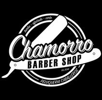 Chamorro Barber Shop. Un proyecto de Diseño gráfico de Eva García Alende - Jueves, 13 de noviembre de 2014 00:00:00 +0100