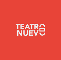 Teatro Nuevo. A Br, ing, Identit, and Editorial Design project by Eva Mez - 05.17.2014