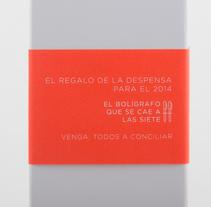 El boli que se cae a la sietes. Un proyecto de Diseño gráfico, Marketing y Packaging de Héctor Rodríguez         - 10.02.2014