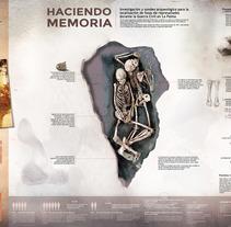 Infografía sobre la defensa de la Memoria Histórica en la isla de La Palma. A Graphic Design project by juan carlos de pablo - 04-12-2014