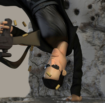 Character Design - Matrix Fan Art. A 3D project by David Almenara Troyano         - 22.07.2016