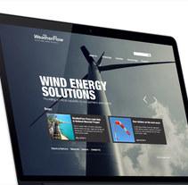 Weatherflow - Website. A Web Design project by Francisco Aveledo         - 01.02.2014