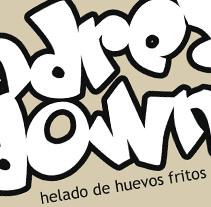 Andrea Down. Helado de huevos fritos. Un proyecto de Ilustración y Comic de Manel Cruz         - 06.12.2014