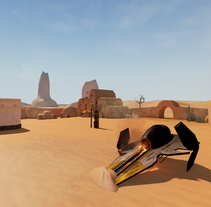 Proyecto Tatooine. A 3D project by Ismael Moreno         - 11.12.2014