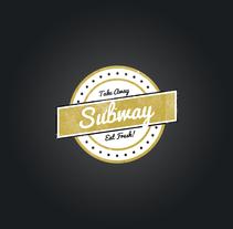 Subway - Take Away. Un proyecto de Diseño gráfico de Alessio Pellegrini         - 07.11.2013