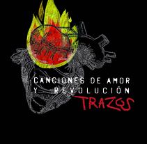 Carátula de CD para Trazos. A Graphic Design project by Julia Aguiar   - 15-12-2014