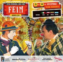 FEIM | Festival Internacional de Mimo y Clown. A Illustration, Editorial Design, Graphic Design, and Collage project by Carolina Fantozzi         - 24.11.2014