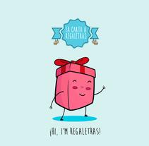 REGALETRAS. A Art Direction, Character Design, Graphic Design&Interactive Design project by Álvaro Melgosa         - 21.12.2014