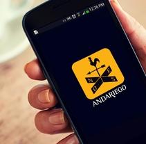 Identidad Andariego. Spot .. Un proyecto de Diseño, Publicidad, Br e ing e Identidad de Daniel  - 17-11-2014