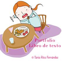Portfolio Libro de Texto. A Illustration project by Tania Rico         - 14.08.2014