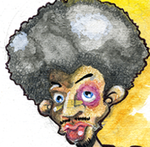 Boxing. A Illustration project by Jaime Lopez Boyero         - 15.01.2015