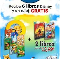 Salvat Disney. A Design, Advertising, Br, ing, Identit, Marketing, and Web Design project by José Luis Mora         - 18.05.2010