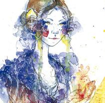 Cartel de Fallas de Borriana /  Borriana's Fallas poster. A Illustration, and Graphic Design project by Paula López         - 21.01.2015