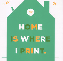 My home is where i print. Un proyecto de Diseño, Bellas Artes y Serigrafía de Barba         - 28.01.2015
