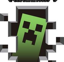 Camiseta Minecraft. Um projeto de Design e Ilustração de dejaquesuene - 26-01-2015
