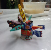 Mis alebrijes. A Design, Crafts, Fine Art, and Painting project by Macarena Barba Teba         - 23.02.2015