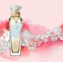 Perfumes PUIG_ Packaging. A Illustration project by Robert Tirado - Jan 29 2015 12:00 AM