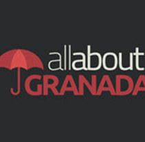 AllAboutGranada web. Um projeto de Design gráfico, Web design e Desenvolvimento Web de Manuel Gago         - 02.02.2015