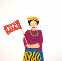 Un regalo para Rita. A Design&Illustration project by Roberto Rodríguez         - 04.02.2015